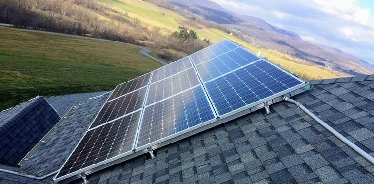 What is a hybrid solar system?