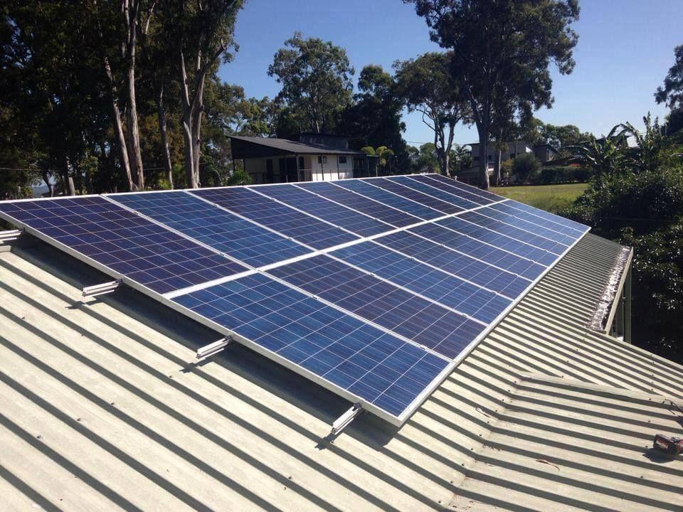 5kw solar on roof