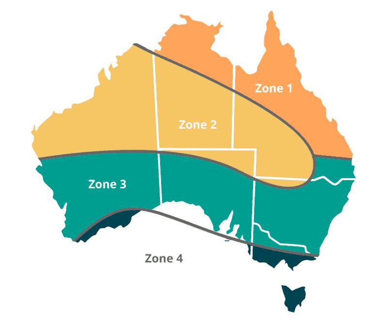 STC Zone ma in Australia