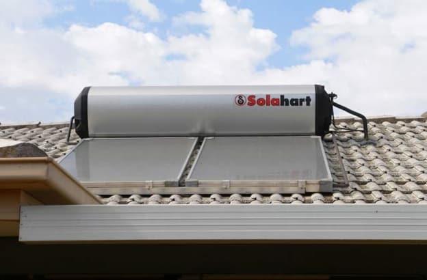Solar hart solar hot water rooftop system