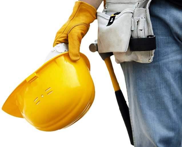 Contractor hardhat hammer