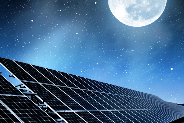 How do we use solar energy at night