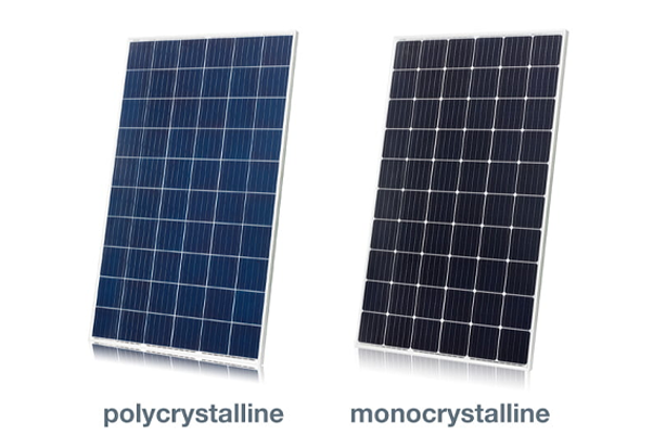 Monocrystalline vs polycrystalline solar panel efficiency