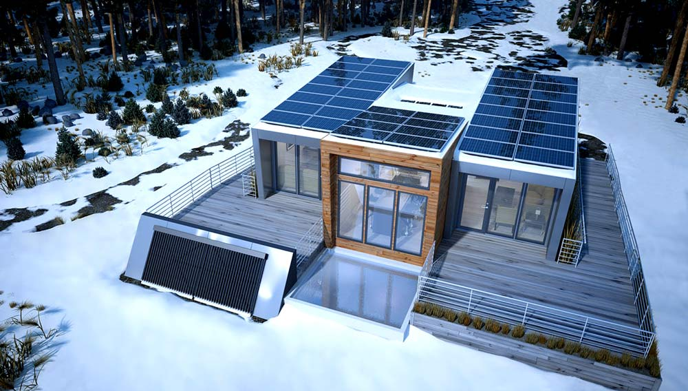 do solar panels work in winter