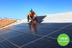 10kw-solar-system-being-installed-by-technician2