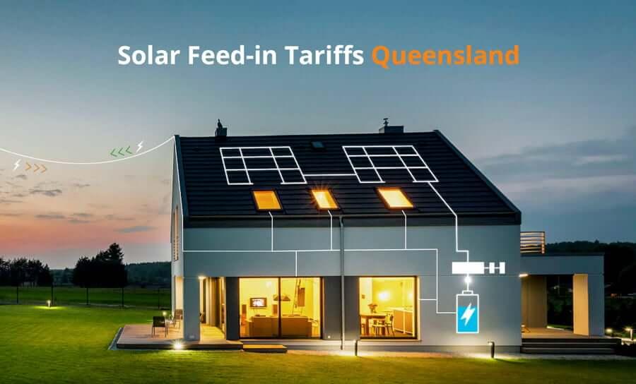 Solar feed-in tariffs Queensland QLD