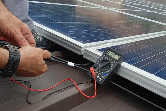 testing-solar-panel-system