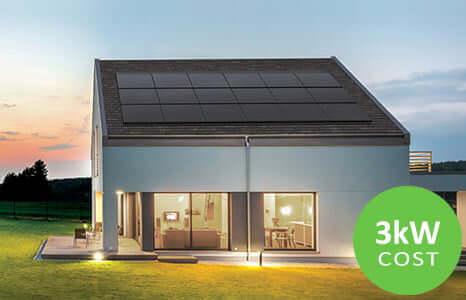 3kw solar button
