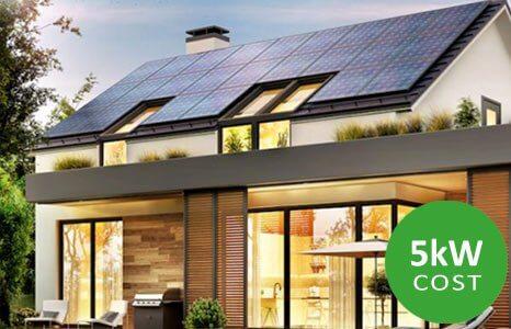 5kw solar button