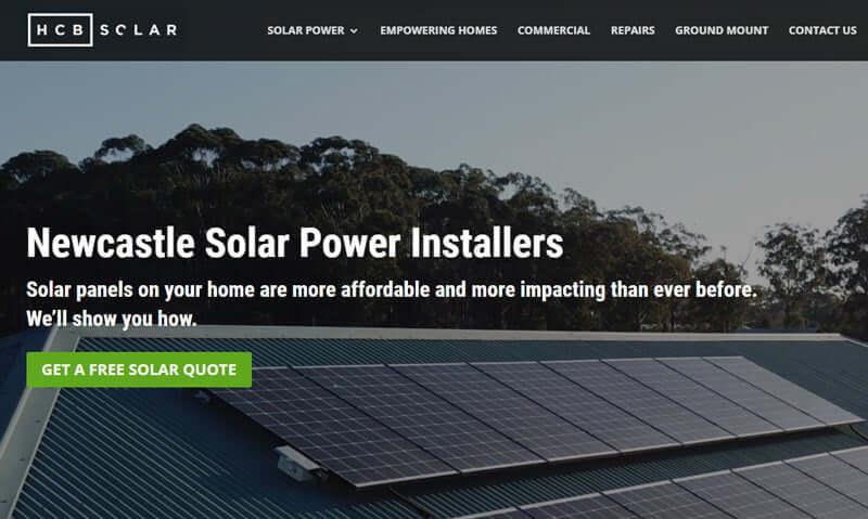 HCB solar newcastle NSW