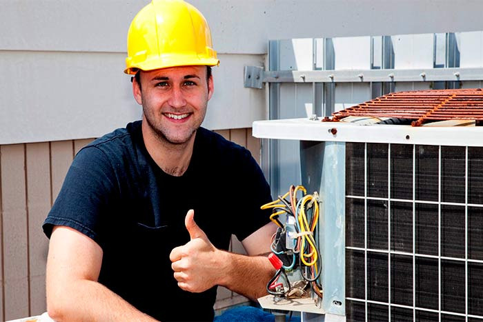 Questions to ask your installer during solar installation happy worker