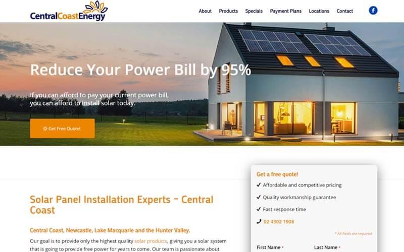 central coast energy NSW Terrigal