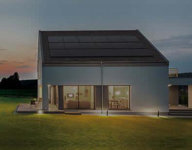 solar panels button