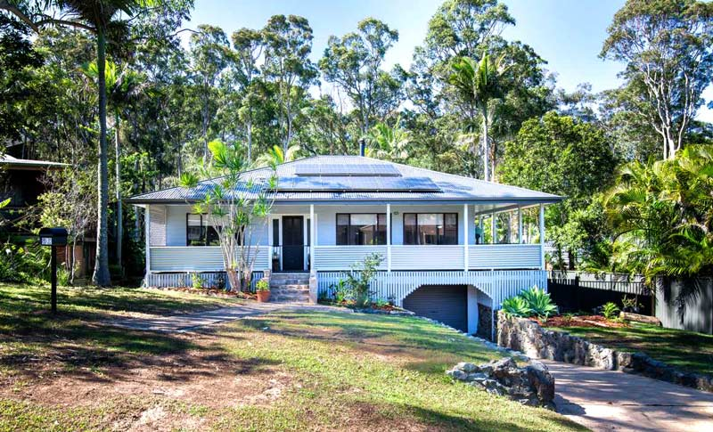 solar panels installed on brisbane home