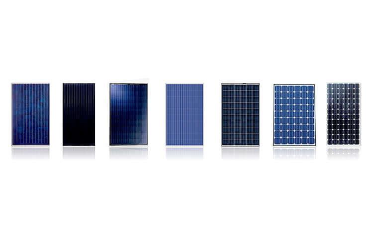 FAQ's Types of solar panels